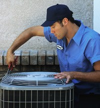 HVAC-repair-technician-on-the-job