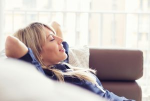 comfortable-woman